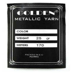 Αλυσιδάκι Golden Metallic Yarn 25gr