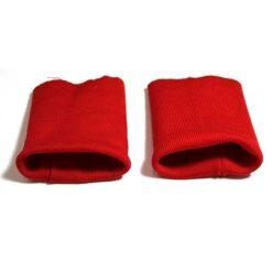 Βαμβακερές Μανσέτες σε Κόκκινο 016