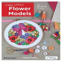 Βιβλίο με Σχέδια Κεντήματος Μοντέλα Λουλουδιών