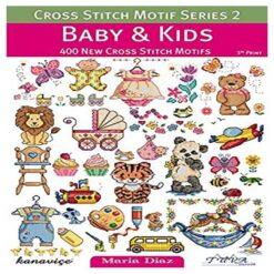 Βιβλίο με Σχέδια Κεντήματος για Μωρό και Παιδί