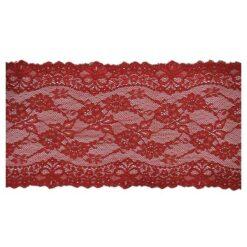 Δαντέλα Ελαστική 155mm σε Κόκκινο Χρώμα