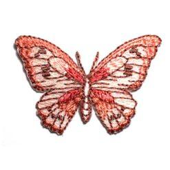Θερμοκολλητικά Μοτίφ Πεταλούδα σε Ροζ Χρώμα