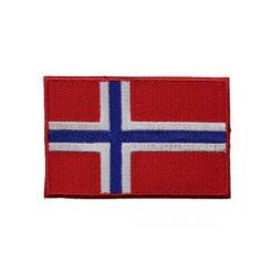Θερμοκολλητικά Μοτίφ Στάμπες Σημαία Νορβηγίας