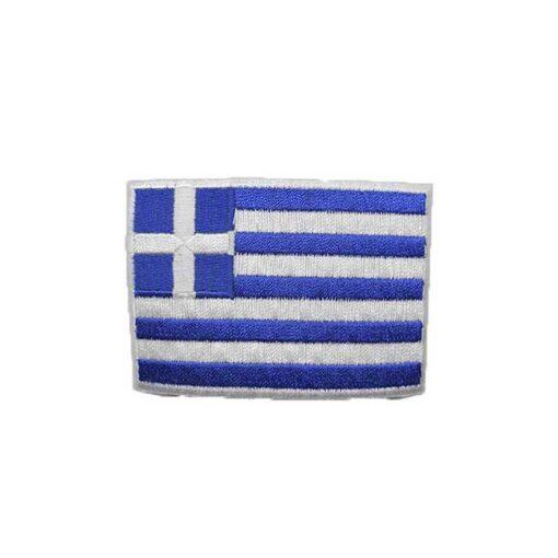 Θερμοκολλητικά Μοτίφ Στάμπες η Σημαία της Ελλάδος