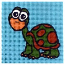 Κέντημα Παιδικό Χελώνα (Κομπλέ Κιτ)