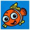 Κέντημα Παιδικό Ψαράκι (Κομπλέ Κιτ)