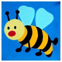 Κέντημα Παιδικό με την Μέλισσα (Κομπλέ Κιτ)