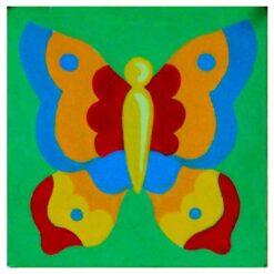 Κέντημα Παιδικό με την Πεταλούδα (Κομπλέ Κιτ)