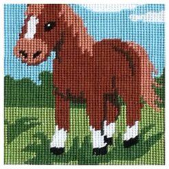 Κέντημα Παιδικό με το Άλογο στον Αγρό (Κομπλέ Κιτ)