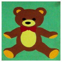 Κέντημα Παιδικό με το Αρκουδάκι (Κομπλέ Κιτ)