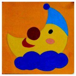 Κέντημα Παιδικό το Φεγγάρι (Κομπλέ Κιτ)