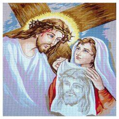 Κέντημα Σταμπωτό Όνειρο με τον Χριστό