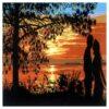 Κέντημα Σταμπωτό Ηλιοβασίλεμα