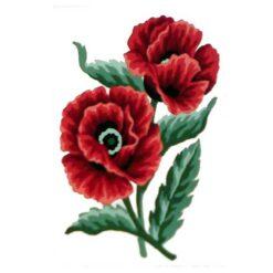 Κέντημα Σταμπωτό Λουλούδι