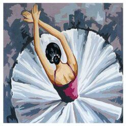 Κέντημα Σταμπωτό η Μπαλαρίνα που Χορεύει