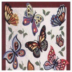 Κέντημα Σταμπωτό οι Πεταλούδες