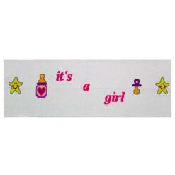 Κέντημα Σταυροβελονιάς Φάσα (Its a Girl)