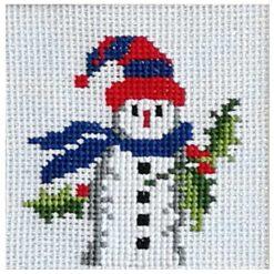 Κέντημα με τον Χιονάνθρωπο (Κομπλέ Κιτ)