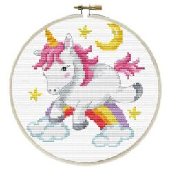 Κέντημα σε Εταμίν Αίντα με το Unicorn