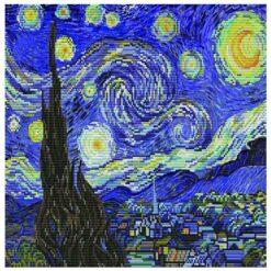 Κέντημα σε Εταμίν Αίντα Starry Night ( Van Gogh)