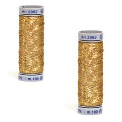 Κλωστή ραπτομηχανής σε Χρυσό