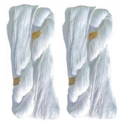 Κουβερτόνημα Αετός σε Τσιλέ Χρώμα Λευκό