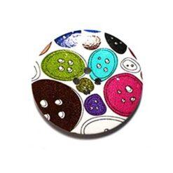 Κουμπί Ξύλινο Διακοσμητικό με Κουμπιά