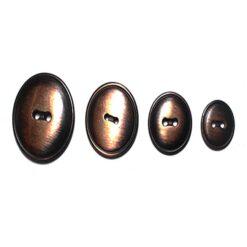 Κουμπί Σιδερένιο σε Μπρονζέ Χρώμα
