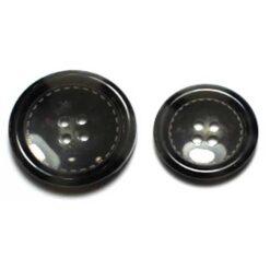 Κουμπιά Κοκκάλινα με Ραφή
