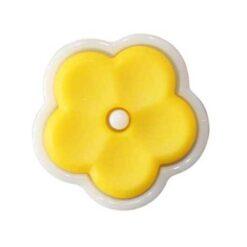 Κουμπιά Παιδικά Μαργαρίτα σε Κίτρινο