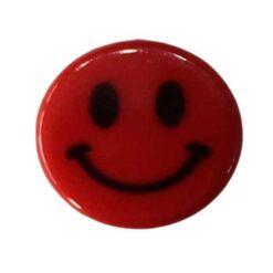 Κουμπιά Παιδικά Φατσούλες σε Κόκκινο
