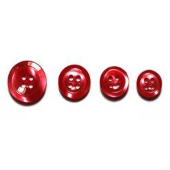Κουμπιά για Πουκάμισα σε Κόκκινο