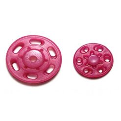 Κουμπώματα Πλαστικά Σούστες σε Φούξια Χρώμα
