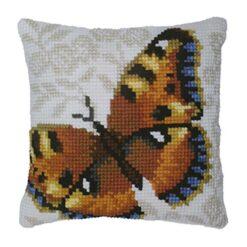 Μαξιλάρι για Κέντημα με την Πεταλούδα