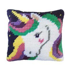 Μαξιλάρι για Κέντημα με το Star Unicorn