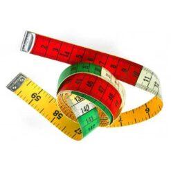 Μεζούρα Τρίχρωμη 1.50cm