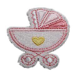 Μοτίφ για Μωρουδιακά τα Καροτσάκια σε Ροζ Χρώμα