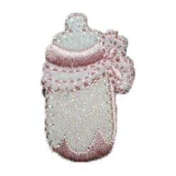 Μοτίφ για Μωρουδιακά τα Μπιμπερό σε Ροζ Χρώμα