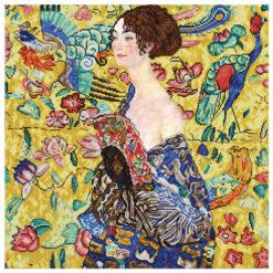 Πίνακας με Ψηφίδες Diamond Dotz η Γυναίκα (Klimpt)