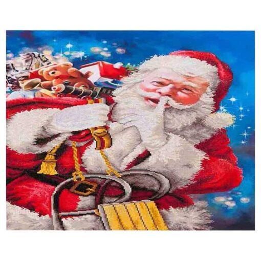 Πίνακας με Ψηφίδες Diamond Dotz Complete Κιτ ο Άγιος Βασίλης
