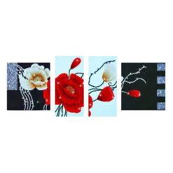 Πίνακας με Ψηφίδες Diamond Dotz Complete Κιτ Art Deco Poppies