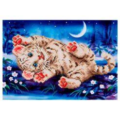 Πίνακας με Ψηφίδες Diamond Dotz Complete Κιτ Baby Tiger Roly Poly