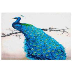 Πίνακας με Ψηφίδες Diamond Dotz Complete Κιτ Blue Peacock