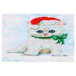 Πίνακας με Ψηφίδες Diamond Dotz Complete Κιτ Chrissy Kitty