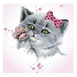 Πίνακας με Ψηφίδες Diamond Dotz Complete Κιτ Eye Spy Kitty