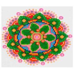 Πίνακας με Ψηφίδες Diamond Dotz Complete Κιτ Flower Mandala