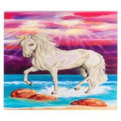 Πίνακας με Ψηφίδες Diamond Dotz Complete Κιτ Magical Unicorn