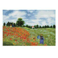 Πίνακας με Ψηφίδες Diamond Dotz Complete Κιτ Poppy fields (apres Monet)