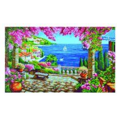 Πίνακας με Ψηφίδες Diamond Dotz Complete Κιτ Riviera Dream