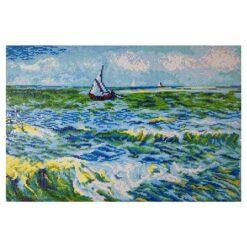 Πίνακας με Ψηφίδες Diamond Dotz Complete Κιτ Saint Marie (Van Gogh)